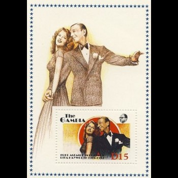 GAMBIA. FRED ASTAIRE Y RITA HAYWORTH.