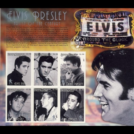 GRANADA-CARRIACOU. ELVIS PRESLEY.