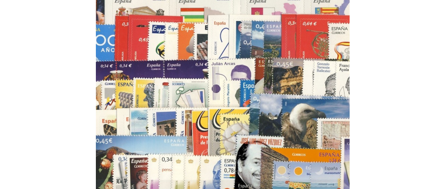 Spanish stamps 2010