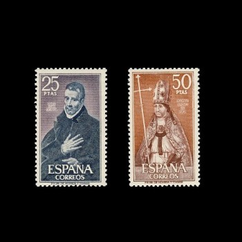1961/62 PERSONAJES  ESPAÑOLES