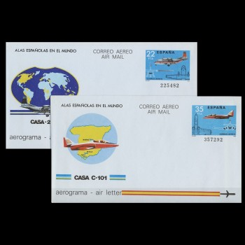 205/06  AEROGRAMAS 1983