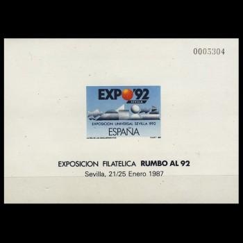 2875 P     EXPO ´92  SEVILLA