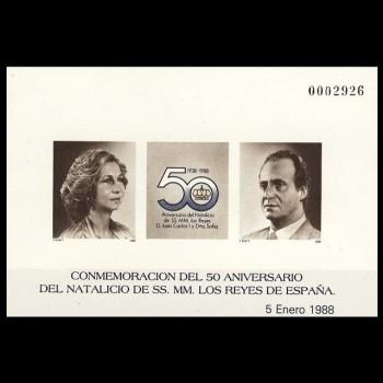 2927 P     50º ANIVERSARIO...