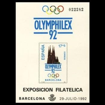 3219  P     OLYMPHILEX ´92