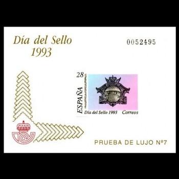 3243  P     DIA DEL SELLO ´93