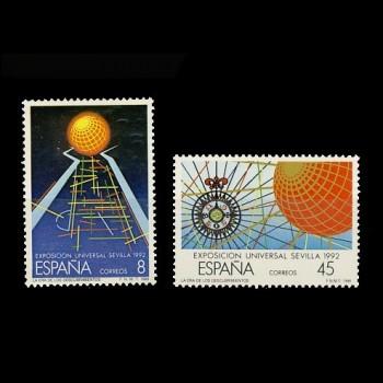 2939/40 EXPO`92.  SEVILLA (II)
