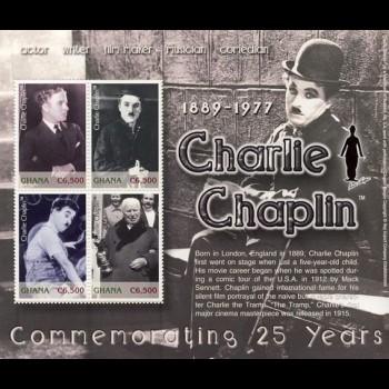 GHANA. CHARLIE CHAPLIN.