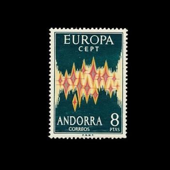 ANDORRA ESPAÑOLA.  72 EUROPA