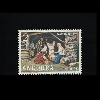 ANDORRA ESPAÑOLA.  79 NAVIDAD