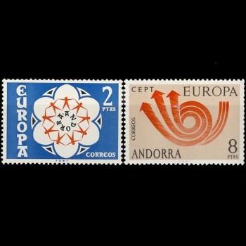 ANDORRA ESPAÑOLA.  85/86...