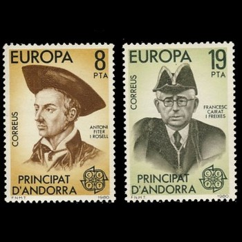 ANDORRA ESPAÑOLA. 133/34...