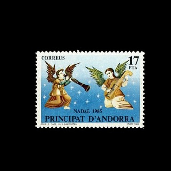 ANDORRA ESPAÑOLA. 189 NAVIDAD