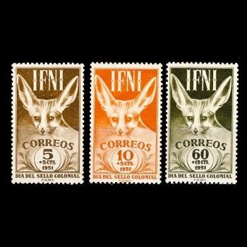 IFNI.  76/78  DÍA DEL SELLO