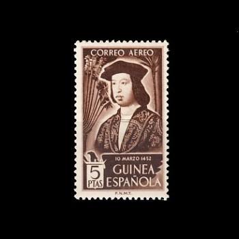 GUINEA ESP. 317 CENTENARIO DEL NACIMIENTO DE FERNANDO EL CATOLICO