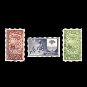 GUINEA ESP. 362/64  DÍA DEL SELLO