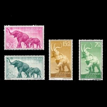 GUINEA ESP. 369/72  DÍA DEL...