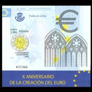 4496 P  ANIVERSARIO DEL EURO
