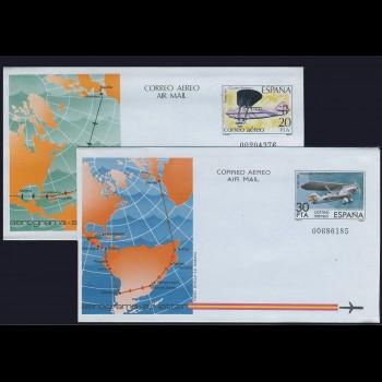 203/04 AEROGRAMAS 1982