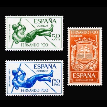 FERNANDO POO. 245/47 DIA DEL SELLO