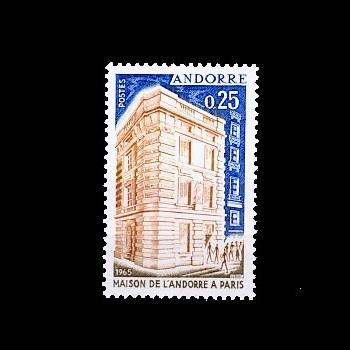 ANDORRA FRANCESA. 194  CASA DE ANDORRA EN PARIS