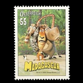 AUSTRIA. PELICULA MADAGASCAR.