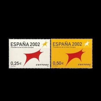 3865/66    ESPAÑA 2002....