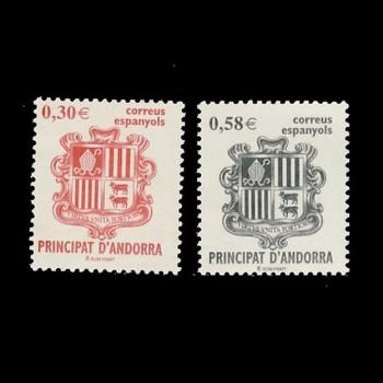 ANDORRA ESPAÑOLA. 343/44...