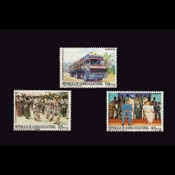 G. ECUATORIAL. 109/11    XX   ANIVERSARIO DE LA INDEPENDENCIA