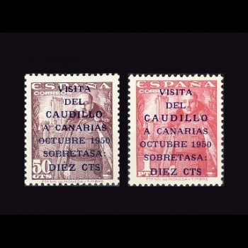 1088/89   CANARIAS TERRESTRE  2ª TIRADA.  BC