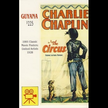 GUYANA. CHARLIE CHAPLIN.