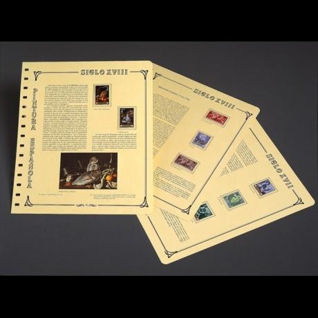 Pintura Española. Álbumes I,II, III. Con filoestuches.