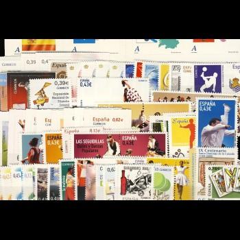 Año completo 2009   con Hojas bloque y carnet