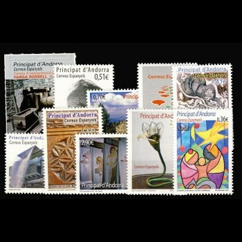 ANDORRA ESPAÑOLA.  Año completo 2012