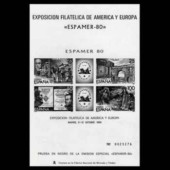 2583 P     ESPAMER´80  MADRID