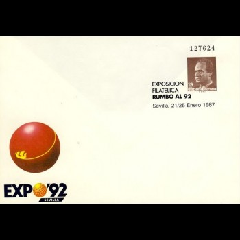 S.E.P.  6  EXPOSICION  RUMBO AL 92