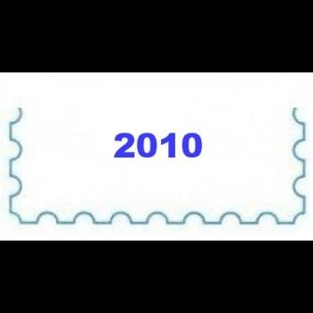 AÑO 2010. MINIPLIEGOS. CARTULINA BLANCA.