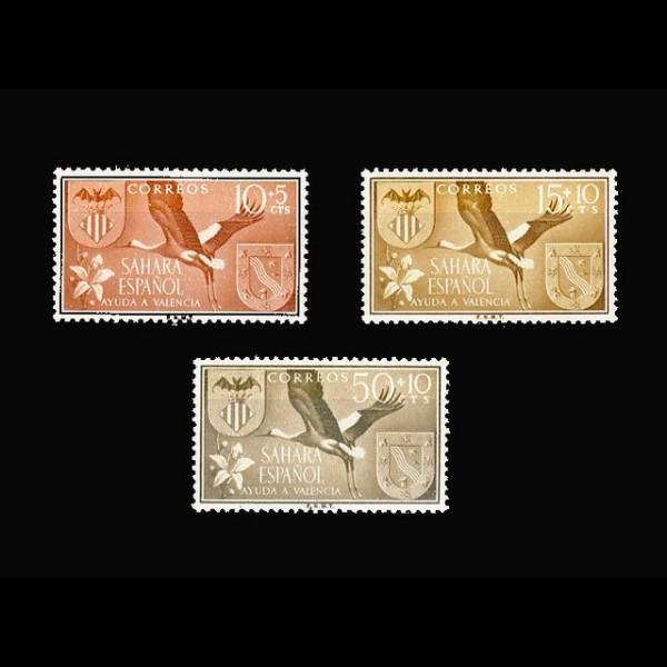 SAHARA.   146/148 AYUDA A VALENCIA