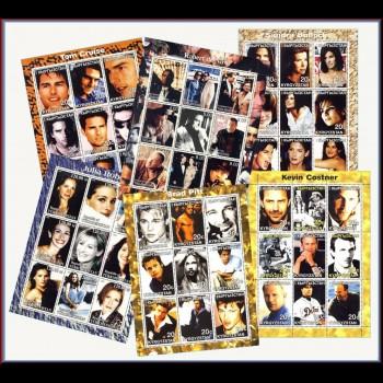 Colección los sellos de las Estrellas.  Suplemento