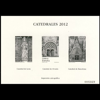 4747P CATEDRALES  2012