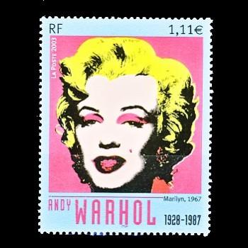 FRANCIA. MARILYN  POR ANDY WARHOL
