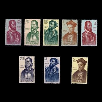 1454/61   III  FORJADORES DE AMERICA