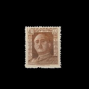 953* GENERAL FRANCO.  BC