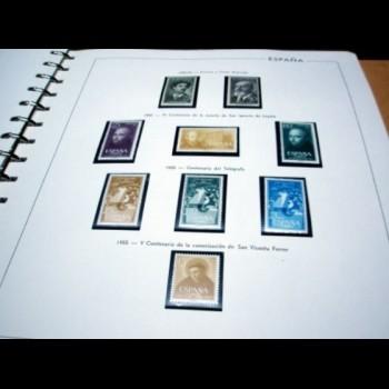 COLECCION  DE SELLOS DE ESPAÑA  1950 -  2011