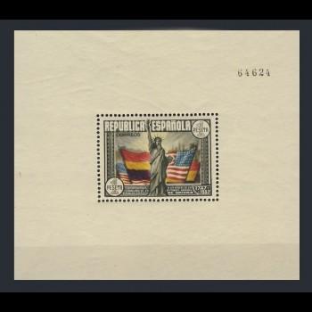 764  HOJA  BLOQUE  CONSTITUCION DE EE.UU