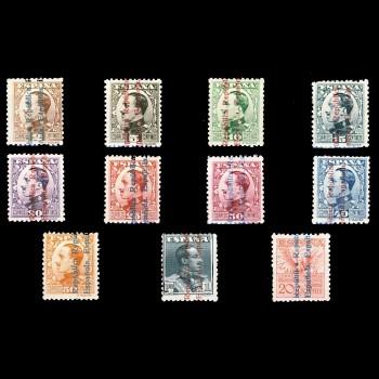 593/03 ALFONSO XIII SOBRECARGADO. CN