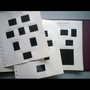 ANDORRA. ALBUM Y HOJAS DE ALBUM- OLEGARIO- (1976-01)