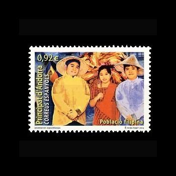 ANDORRA ESPAÑOLA. 422 POBLACION FILIPINA