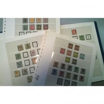 Colección de sellos de  Suecia (1855 - 1959)