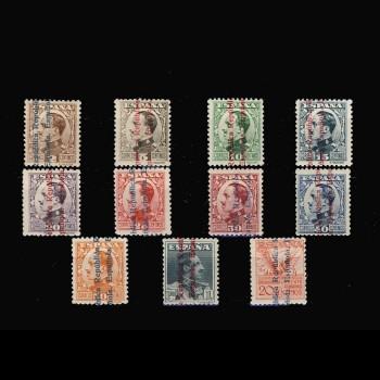 593/03** ALFONSO XIII SOBRECARGADO. BC
