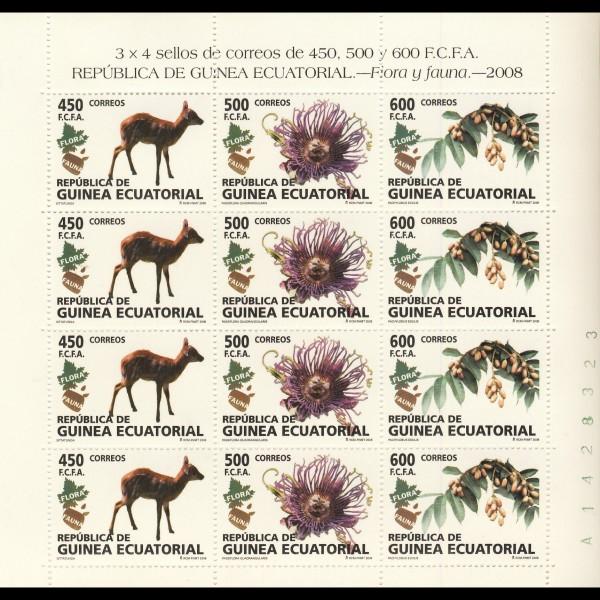 G. ECUATORIAL. 411/13 MP. FLORA Y FAUNA